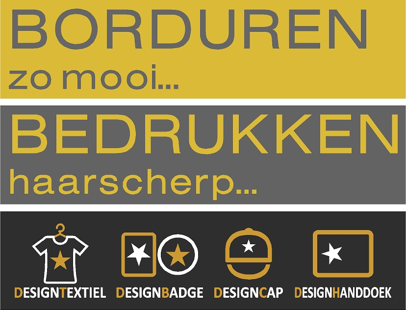 bedrukken borduren labels